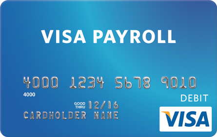 visa payroll is an innovative payment solution to help businesses reduce payroll costs increase efficiency and build employee loyalty - Visa Payroll Card